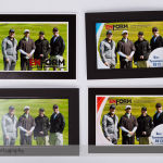 Custom Border Mockups for the Enform 2013 Golf Tournament
