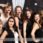 Photobooth at a Corporate Christmas Party in Calgary