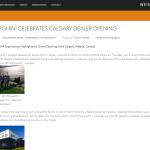 Lamborghini Calgary Grand Opening - weissach.com