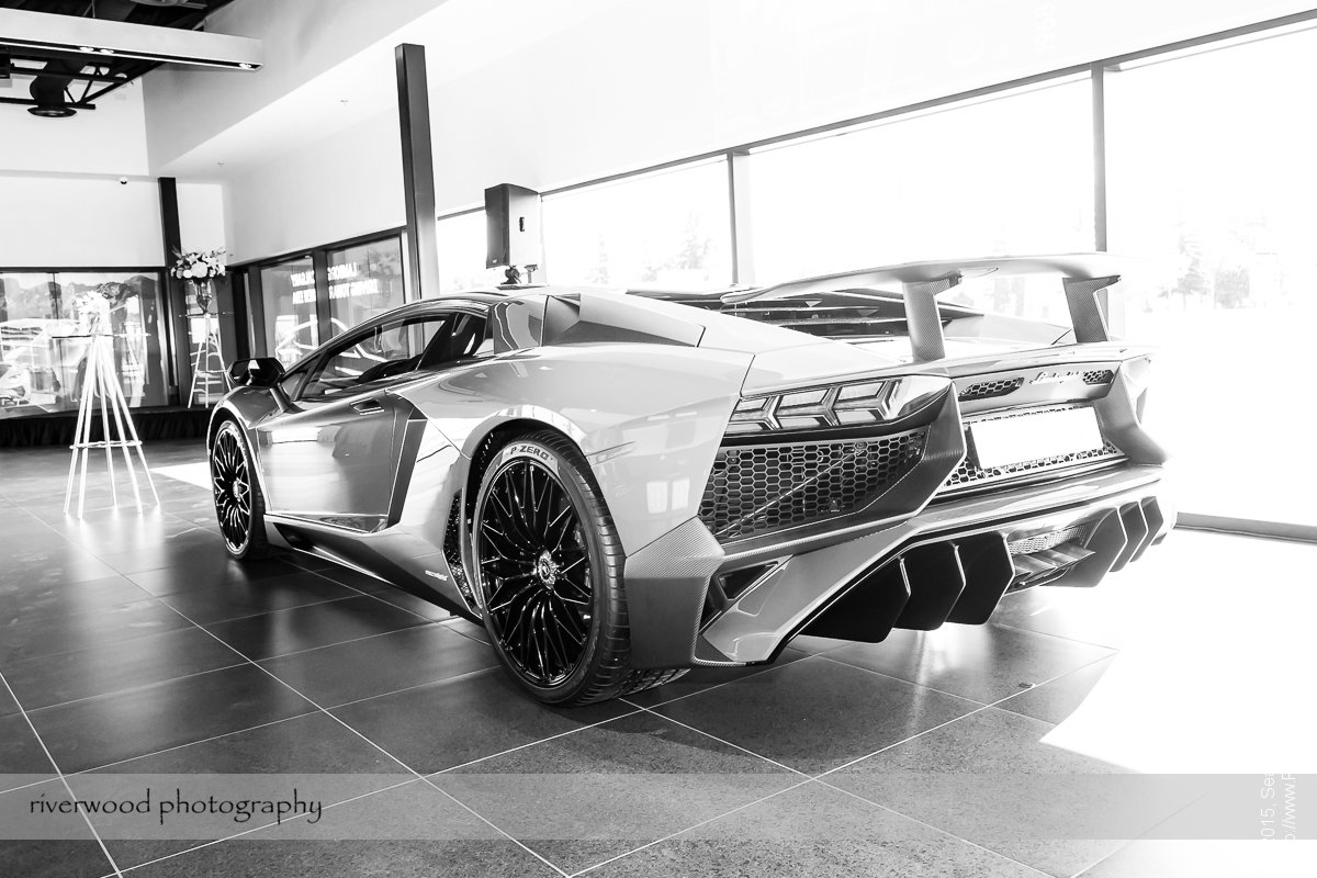 Event Photography at the Lamborghini Calgary Grand Opening