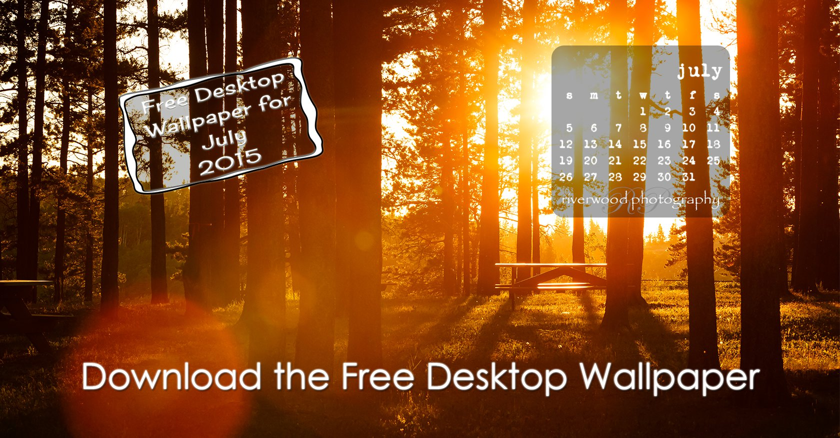 Free Desktop Wallpaper for July 2015