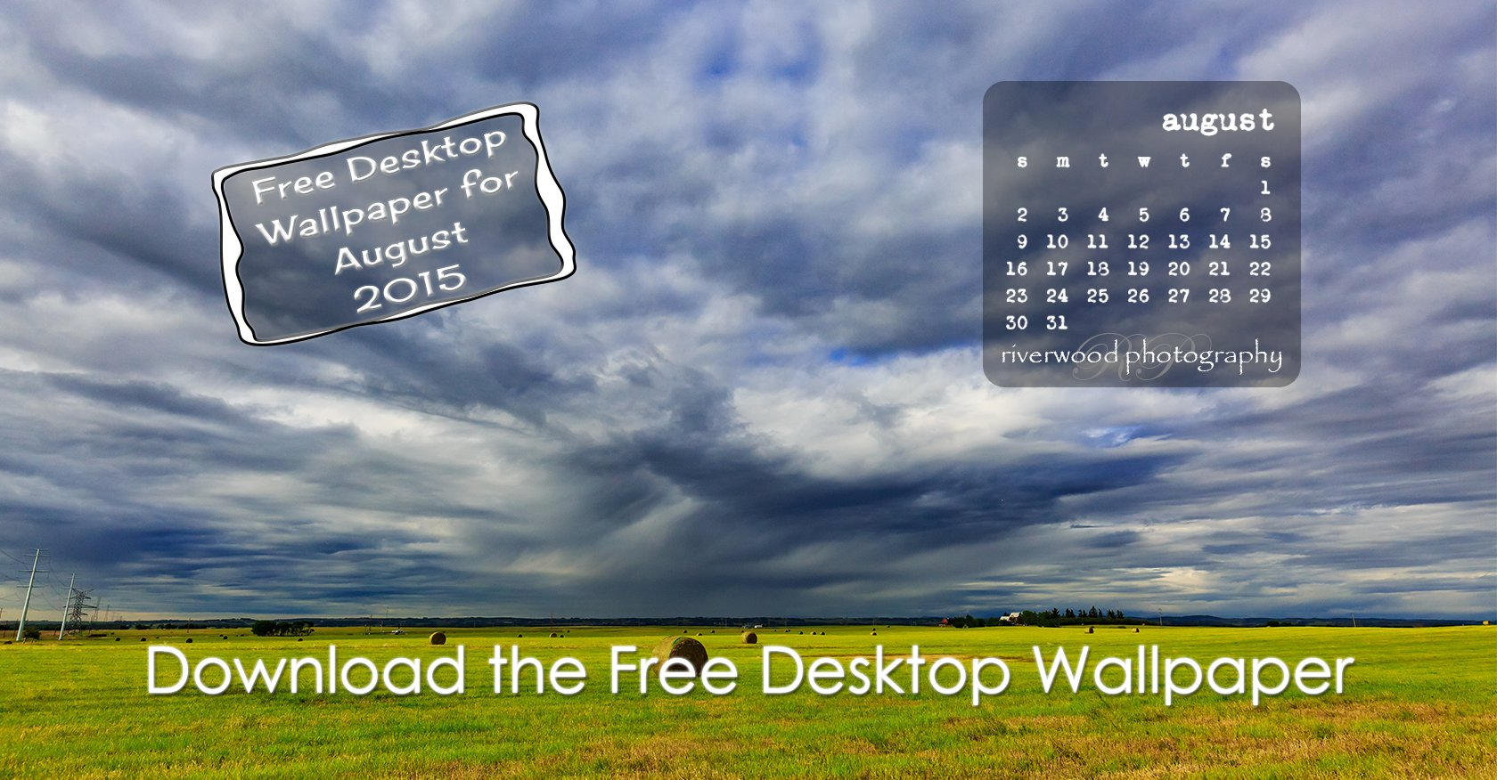 Free Desktop Wallpaper for August 2015