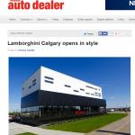 Lamborghini Calgary Grand Opening - Canadian Auto Dealer