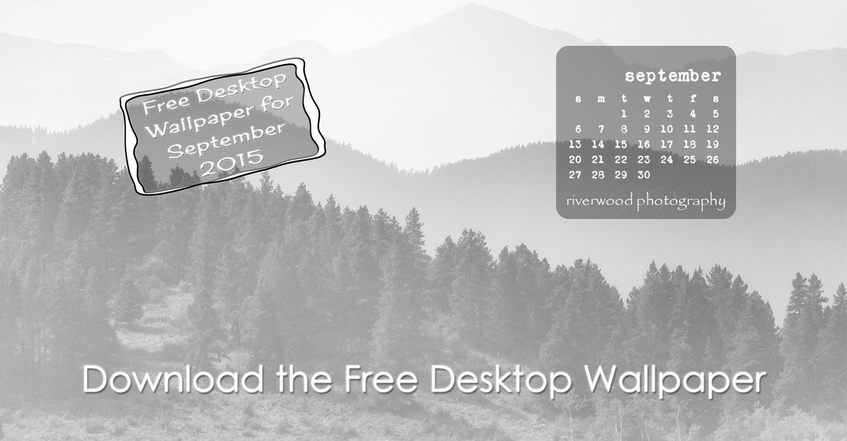 Free Desktop Wallpaper for September 2015