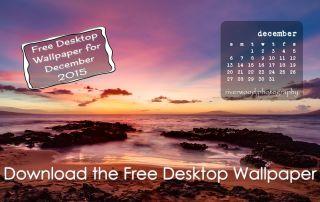 Free Desktop Wallpaper Calendar for December 2015