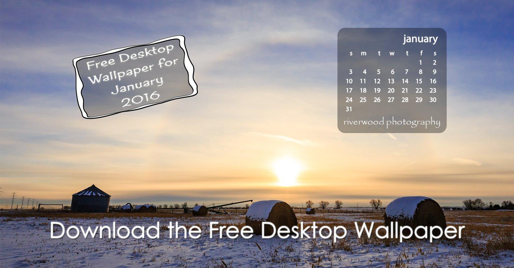 Free Desktop Wallpaper for January 2016