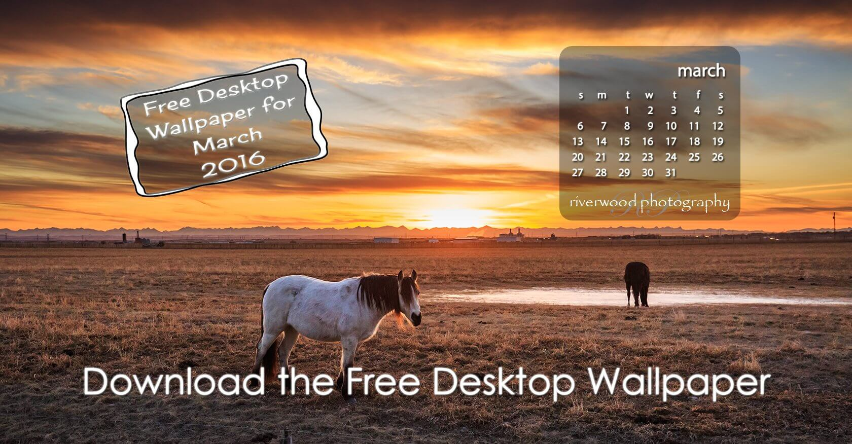 Free Desktop Wallpaper for March 2016