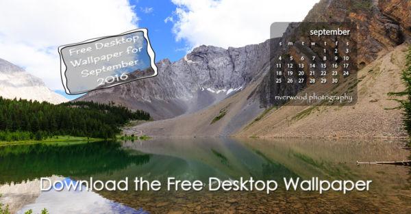 Free Desktop Wallpaper For September 2016