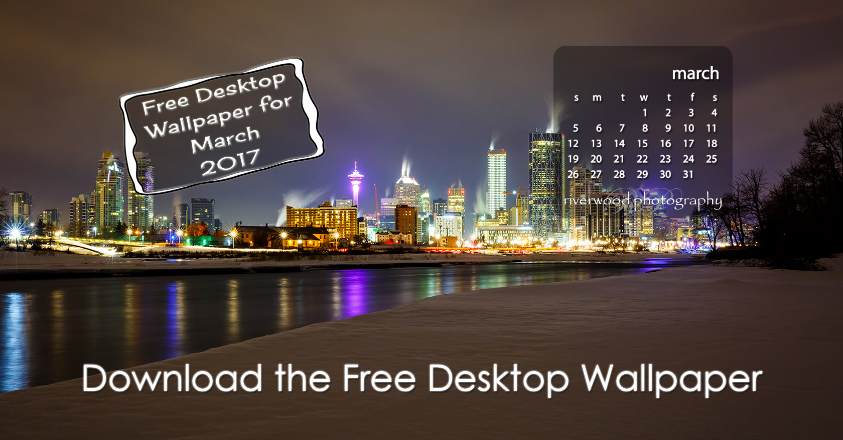 Free Desktop Wallpaper for March 2017