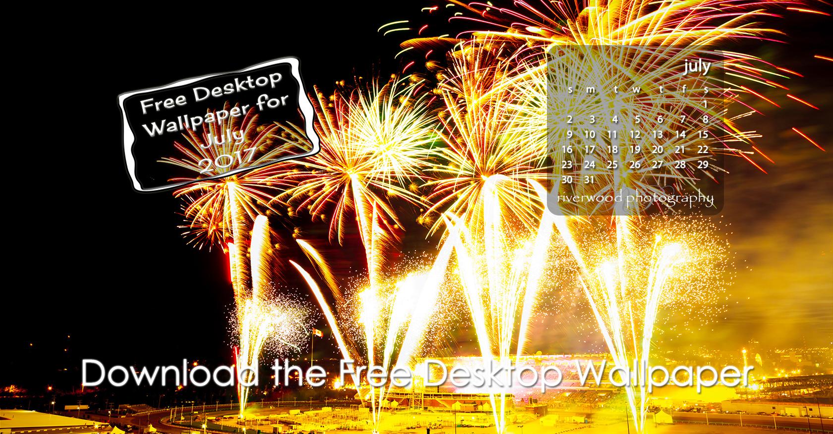 Free Desktop Wallpaper for July 2017