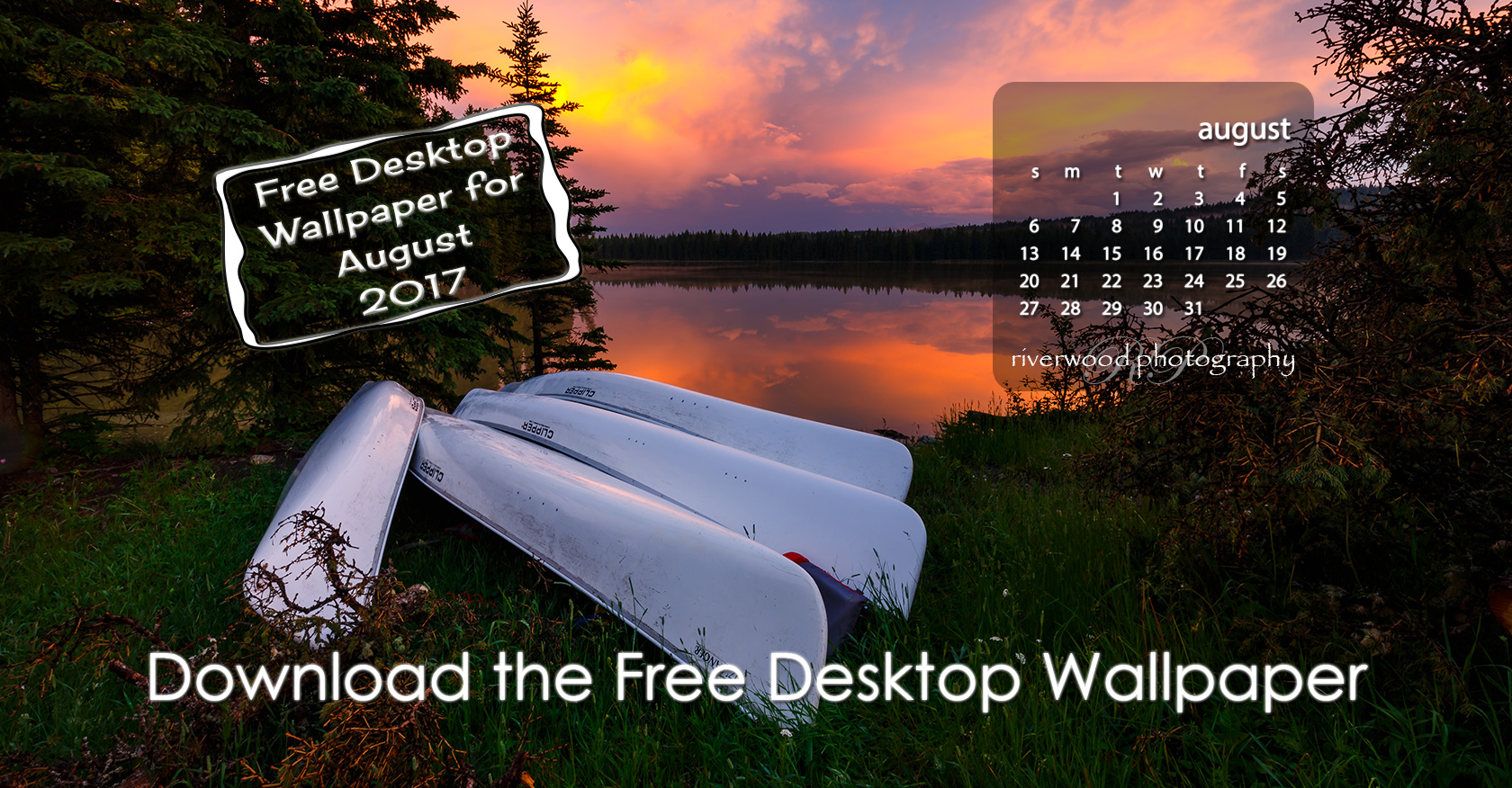 Free Desktop Wallpaper for August 2017