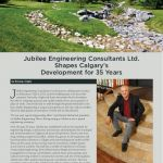 Business in Calgary Magazine - Business Profile for Jubilee Engineering