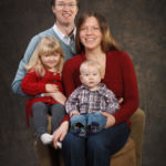 Studio Portraits with the Creaser Family
