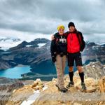 Standing on the Summit of Cirque Peak