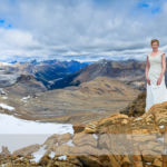 Trash the Dress Photoshoot at the Summit of Cirque Peak