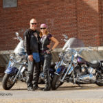 Photoshoot with the Chinook Outriders Motorcycle Club