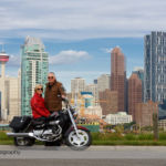 Motorcycle Photoshoot with the Spencers