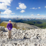 Hiking Moose Mountain in Kananaskis