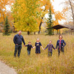 Eakins Family Fall Portraits at Carburn Park