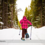 Snowshoeing the Penstock Loop