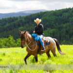 Trail Ride at Anchor D Ranch