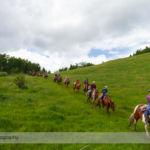 Trail Ride at Anchor D Ranch