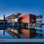 The Environmental Education Center at Ralph Klein Park at Sunset