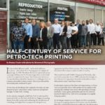 Business in Calgary Magazine - Business Profile for Petro-Tech Printing