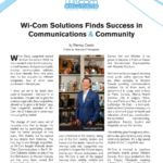 Business in Calgary Magazine - Business Profile for Wi-Com Solutions