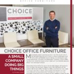 Business in Calgary Magazine - Business Profile for Choice Office Furniture