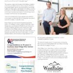 Business in Calgary Magazine - Business Profile for West Ridge Fine Homes