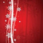 Christmas Red Backdrop